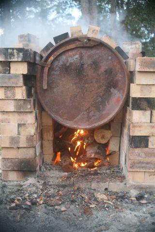 how to make biochar kiln